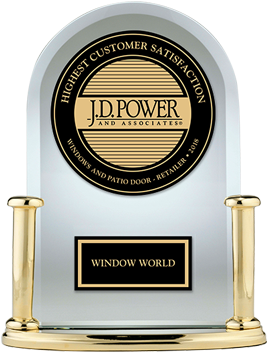 Window World ranked Highest in Customer Satisfaction by J.D. Power